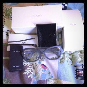 NWT Prada eye glasses frame Rx ready